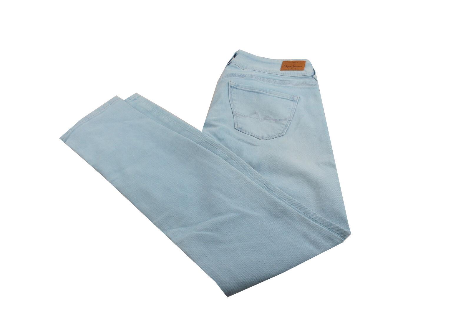 Pepe Jeans Vera Damen Jeans Hose Gr  28 30 hellblau Neu