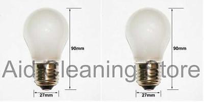 Fridge Freezer Lamp Light Bulb for LG /& SAMSUNG E27 40W 230v x 2
