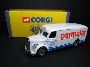 CORGI-MAN-VAN-PARMALAT-CAMIONES-DE-ANTANO-1-64-VINTAGE-MODEL