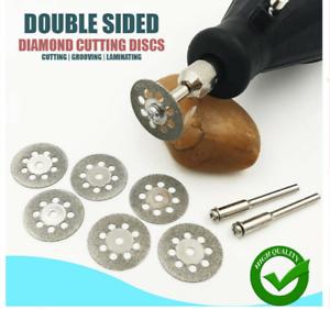 10 Pcs NEW Double Sided Diamond Cutting Discs Rotary Saw Blades Set