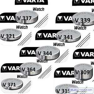 50x V321 Uhrenbatterie Knopfzelle = SR65SW SR616SW VARTA