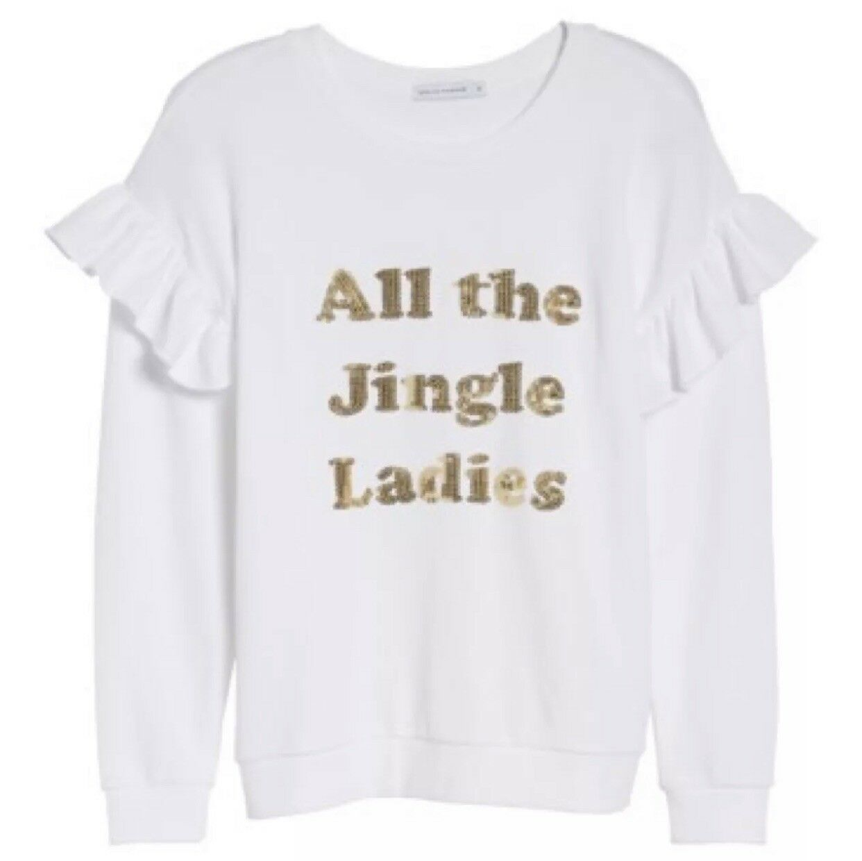 NWT South Parade All the Jingle Ladies Sweatshirt Size Small