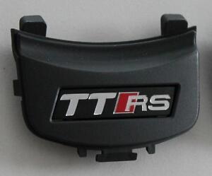 Audi-TT-8J-original-TTRS-Lenkradclip-Logo-Clip-Schriftzug-Emblem-Zeichen-Lenkrad