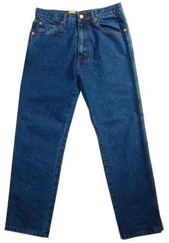 Aztec Homme heavy duty tough casual classique travail coupe régulière Jeans couleurs 2Pairs
