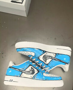 Custom Cartoon Air Force 1 Can Do Any Size Just Buy And Text Me