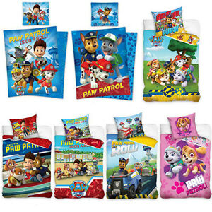 bettw sche kinderbettw sche paw patrol 135x200 140x200 2 teilig baumwolle neu ebay. Black Bedroom Furniture Sets. Home Design Ideas