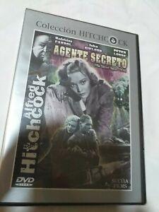 Dvd-AGENTE-SECRETO-NUEVO-PRECINTADO-de-Alfred-hitchcock