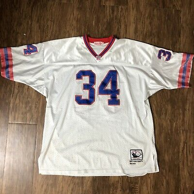 premium selection 1e95b eb0b4 Herschel Walker #34 New York Giants Mitchell & Ness NFL ...