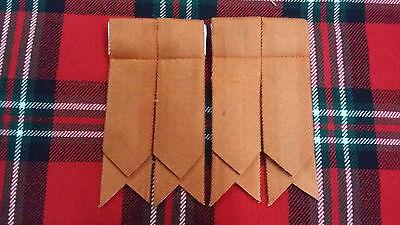kilt pin tuyau clignote Écossais Kilt clignote MacLeod de Harris Tartan Chaussettes Kilt