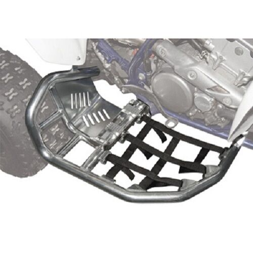 Honda TRX450R Tusk Nerf Bars in Black Webbing TRX450 TRX 450R 450 Guards 04-14