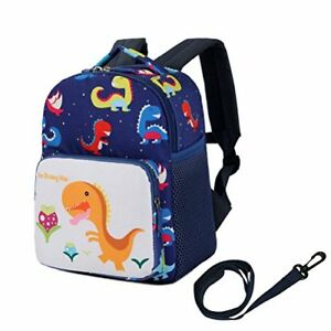 Details about Toddler Childrens Backpack With Safety Harness Leash Baby  Boys Girls Dinosaur P