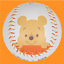 Korean Baseball League KBO DISNEY Collaborative Designed Character Ball Pooh