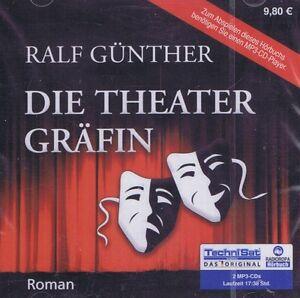 HORBUCH-MP3-CD-NEU-OVP-Die-Theatergraefin-von-Ralf-Guenther