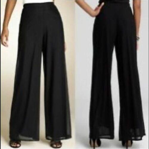 Vintage Cache Black rayon Breakaway pants