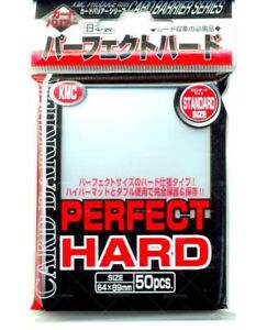 KMC-Perfect-Hard-Fit-Size-Sleeves-50-Count-MTG-Magic-the-Gathering