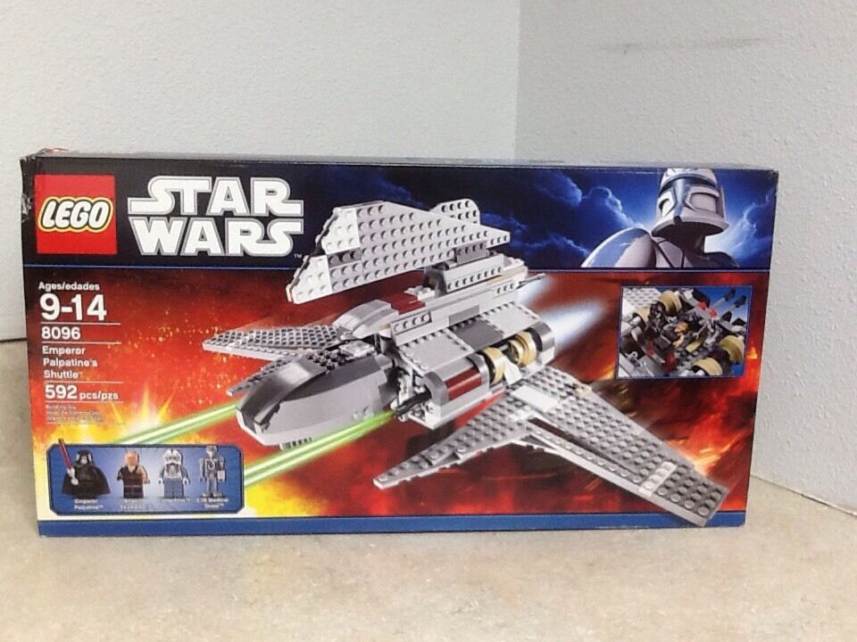 Star Wars Emperor Palpatine's Shuttle 8096 RetiROT