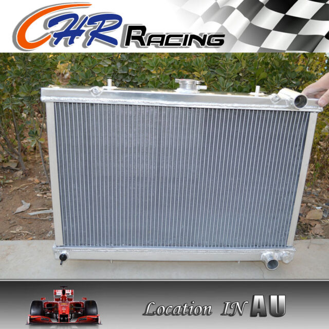 FOR 52MM Aluminum Radiator NISSAN SKYLINE S13 CA18 R32 RB20