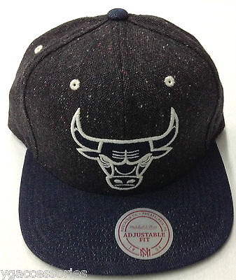 Memorabilia Sporting Goods Disciplined Nba Chicago Bulls Mitchell And Ness Leather Buckleback Cap Hat M&n Rare New