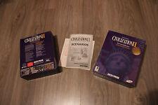Boite du jeu Civilization 2 - PC/CD - Microprose - Big Box