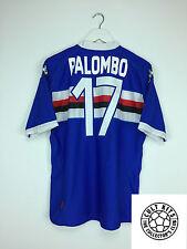 Sampdoria Palombo #17 10/11 Camiseta de fútbol (XL) fútbol Jersey Kappa