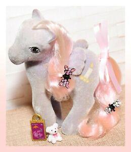 ❤️My Little Pony MLP G1 Vtg So Soft Twilight Fuzzy Flocked Pegasus Candle❤️