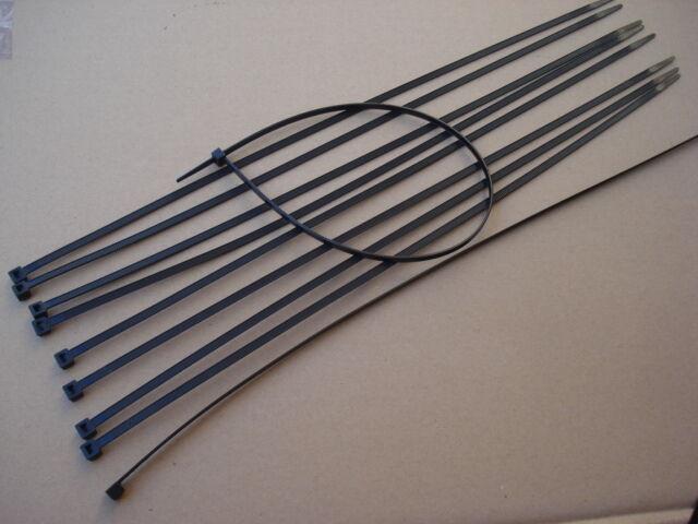 Lot de 500 serre cables liens noir pour fils coloris noir liens longueur 430mm - collier dafcbe