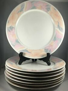 8-SARA-by-China-Pearl-10-1-2-034-Dinner-Plates-9030-Discontinued-Pattern-1990