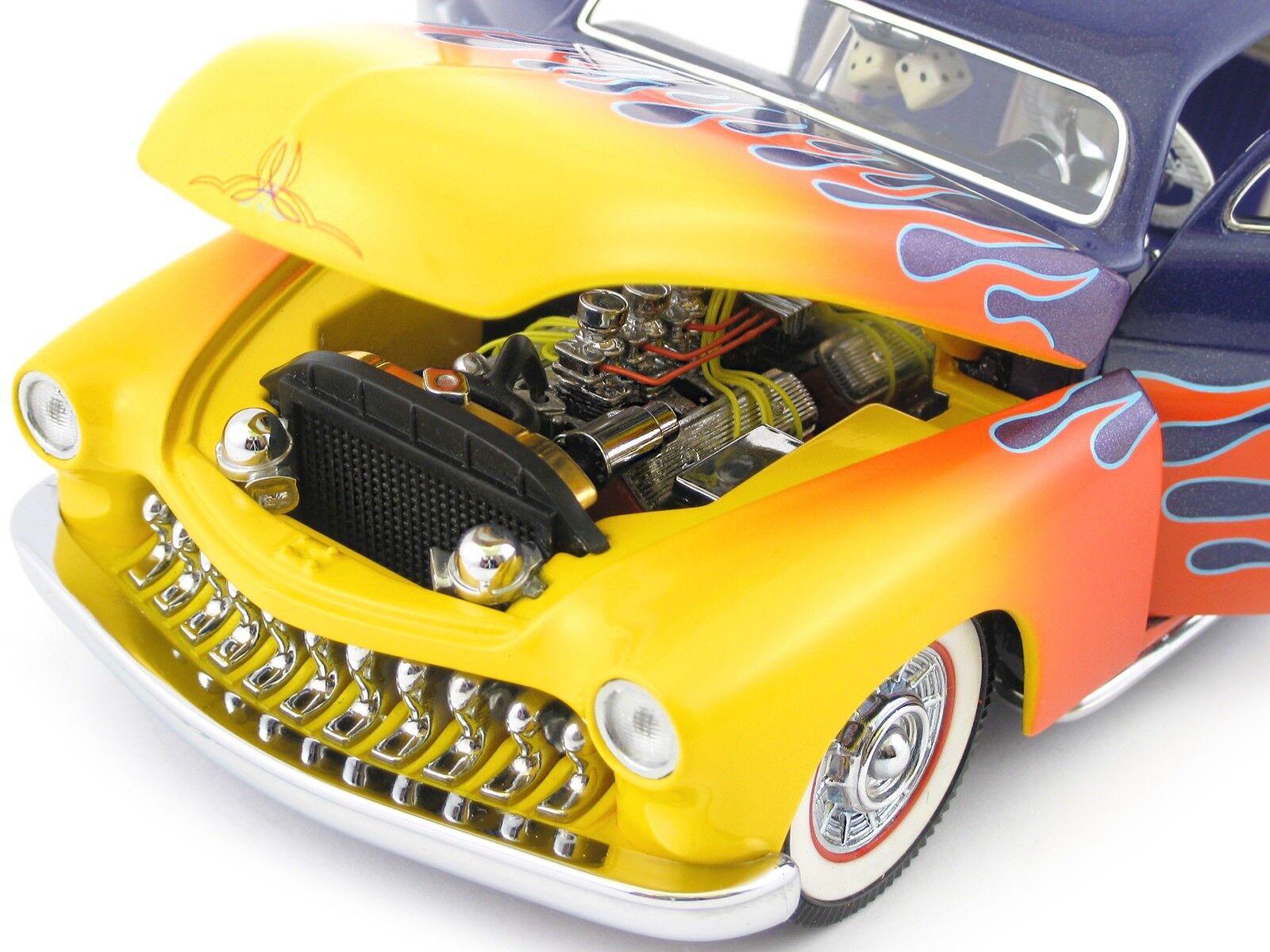 Hot Rod Ford Merc 1 Drag Race Car 1950 1951 1949 Vintage 24 18 12 Carousel Yello