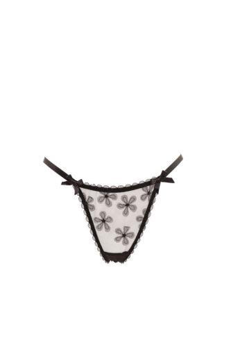 35 Lace van Black Bcf87 Agent Floral Women's Rrp Provocateur £ L'agent Brief xHdqwnvAAB