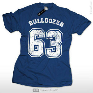 Bulldozer-63-Muecke-Fun-Kult-T-Shirt