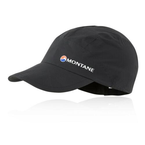 Black Sports Running Outdoors Montane Unisex Minimus Stretch Ultra Cap