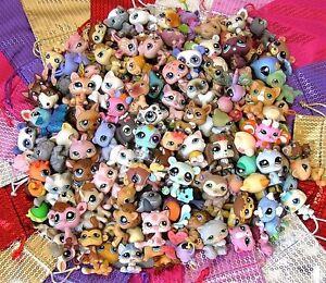 LPS-Littlest-Pet-Shop-Random-Surprise-Bag-Lot-6-Pets-Animals-Collectables-Clean