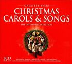 Greatest Ever!: Christmas Carols & Songs: The Definitive Collection [Box] by Various Artists (CD, Oct-2013, 3 Discs, Greatest Ever)