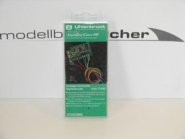 Uhlenbrock 75000 Digitaldecoder AnDi   Neuware