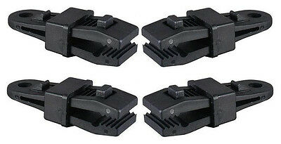 6 Piece Heavy Duty Plastic Tarp Clamps//Tent Awning Clamps 3.25 x 1