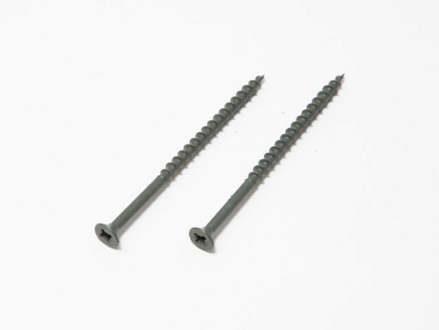 4.5 X 75mm Pozi Cross Head Decking Screw Weatherproof Green Pack Of 1000