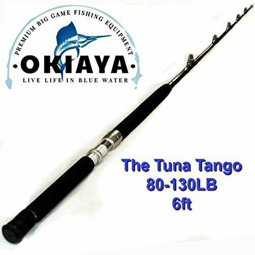 Okiaya COMPOSIT 80130LB TONNO Tango Acqua Salata gree gioco SUPPORTO A RULLI 6 piedi di lunghezza