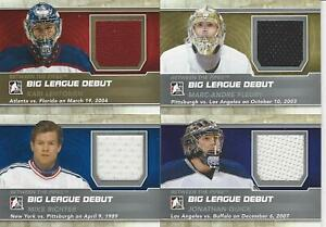 2012-13-IN-THE-GAME-BETWEEN-THE-PIPES-MIKE-RICHTER-BIG-LEAGUE-DEBUT-JERSEY