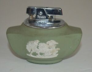 Wedgwood-Green-Jasperware-Lighter