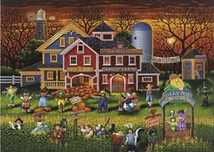 Image is loading Jigsaw,Puzzle,Seasonal,Halloween,Scarecrow,Festival ,500,pieces,