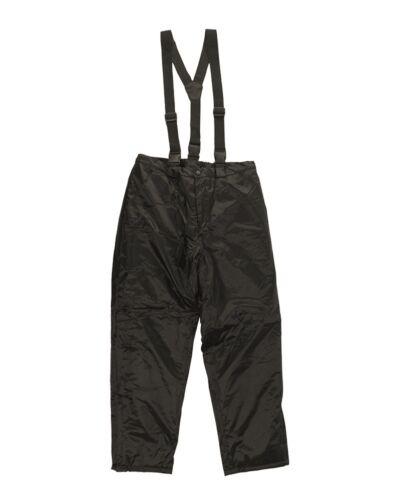 Mil-Tec Thermique PES//PVC avec bretelles Winterhose Armée Pantalon s-3xl