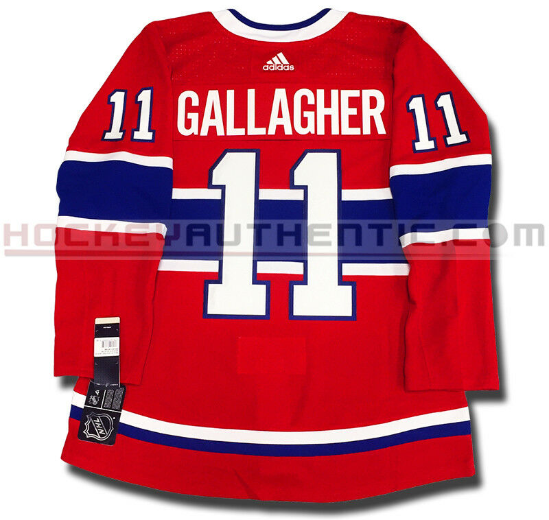 BRENDAN GALLAGHER MONTREAL CANADIENS HOME AUTHENTIC  PRO ADIDAS NHL JERSEY  70% off