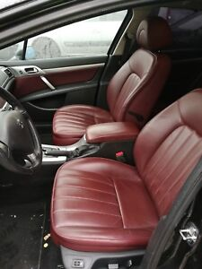 Peugeot-407-Leder-Sitze-Komplett-Ausstattung-mit-Tuerpappen