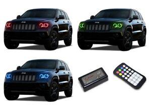 for Kia Optima 11-13 RGB Multi Color M7 LED Halo kit for Headlights