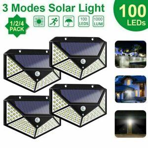 1-2-4x-Lampara-Solar-100LED-con-Sensor-de-Movimiento-Exterior-Proyectores-Foco
