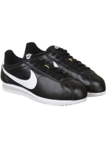 Classic 5 Wmns Leather White Uk 5 Black Retro Premium Nike Cortez Entrenadores CfxaqZ5