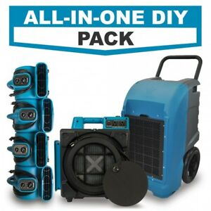 Details about Hepa Air Scrubber, Air Movers, and Industrial Commercial  Dehumidifier DIY Pack
