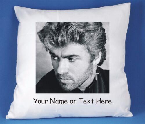 George Michael Personalisiert Luxus Soft Satin Polyester Kissenbezug