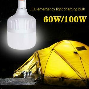 60W 100W LED Camping Light USB Rechargeable Outdoor Lantern Hiking Lamp