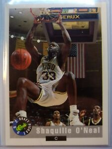 SHAQUILLE-O-039-NEAL-RC-1992-Classic-1-DRAFT-PICK-ROOKIE-CARD-Shaq-Basketball-LSU
